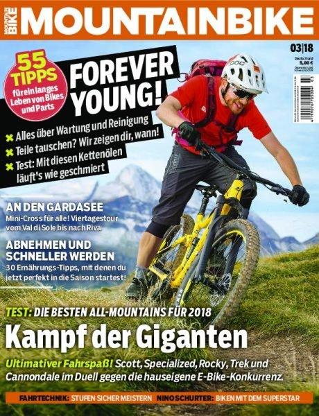 Mountainbike Magazin im Jahresabo für 56,90€ + 50€ Gutschein für Amazon!