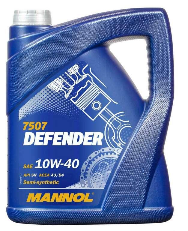 Mannol (10W-40) Defender Motoröl - 5 Liter für 14,99€inkl. Versand (statt 19€)