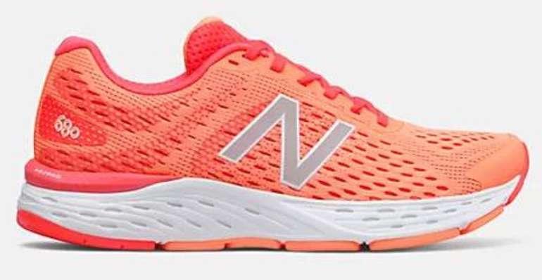 New Balance Sale mit bis 50% + 20% Extra + VSKfrei ab 50€ - z.B. 680v6 Damen Sneaker für 50,40€ (statt 72€)