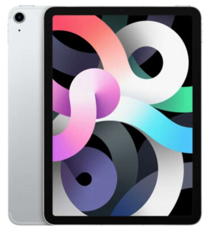 Apple iPad Air (2020) - 10,9 Zoll Tablet mit 64GB Speicher (WiFi + Cellular) für 719,10€ inkl. Versand (statt 769€)