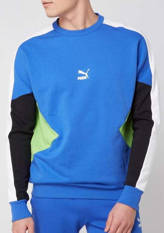 Puma Performance Sweatshirt in Ozean Blau oder Weiß für 20,99€ inkl. Versand (statt 32€)