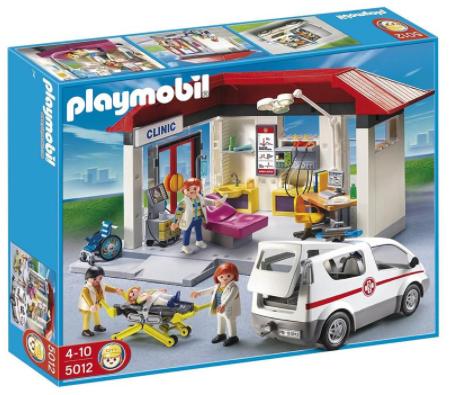 Playmobil Ambulanz mit Notarzt-PKW für 44,94€ inkl. Versand (statt 59€)