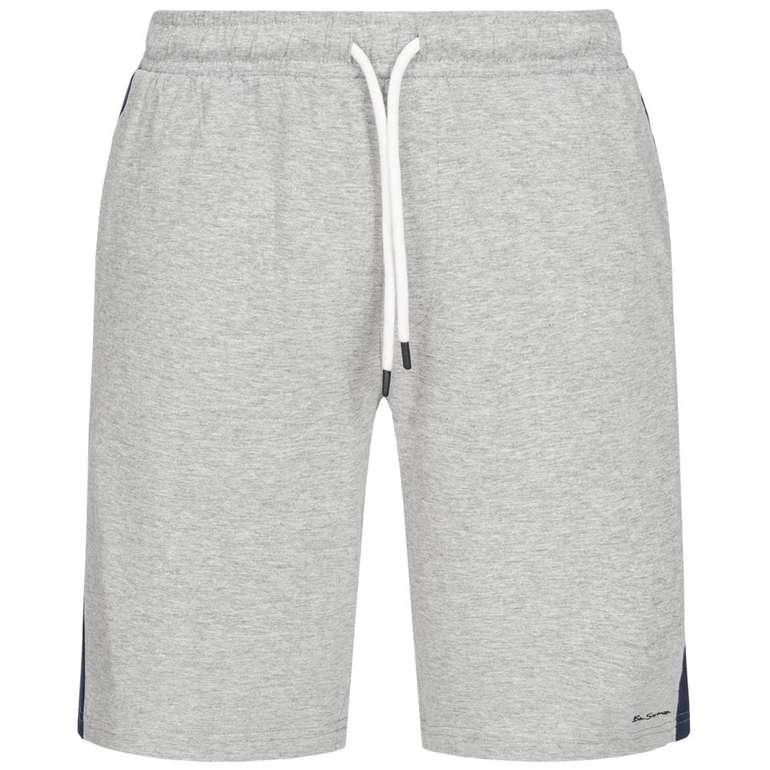 Ben Sherman Herren Bermuda Sweat Shorts in Grau für 8,95€ (statt 17€)