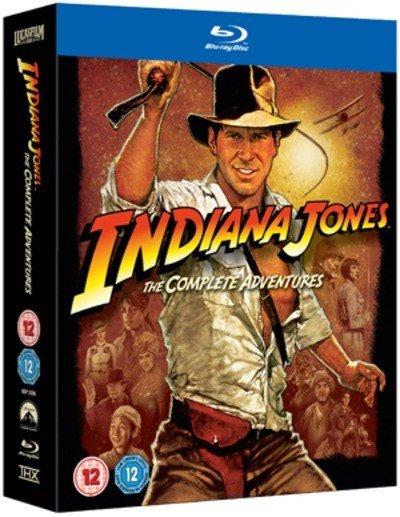 Indiana Jones - The Complete Adventures auf Blu-ray für 11,88€ inkl. Versand