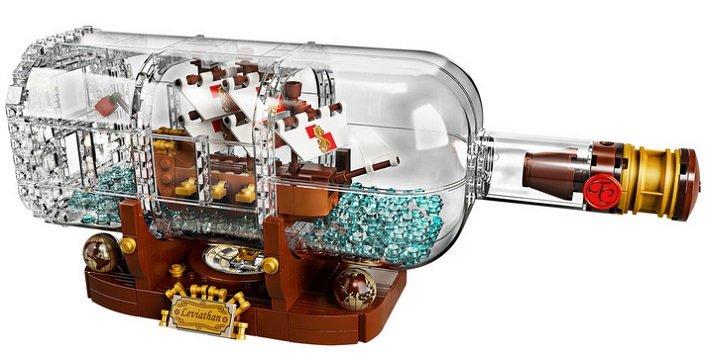 Lego Ideas - Schiff in der Flasche (21313) für 59,90€ inkl. Versand (statt 70€)