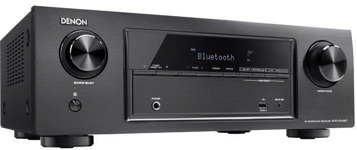 Denon AVR-X540BT 5.2 Kanäle 4K Bluetooth AV-Receiver für 199,90€ inkl. Versand
