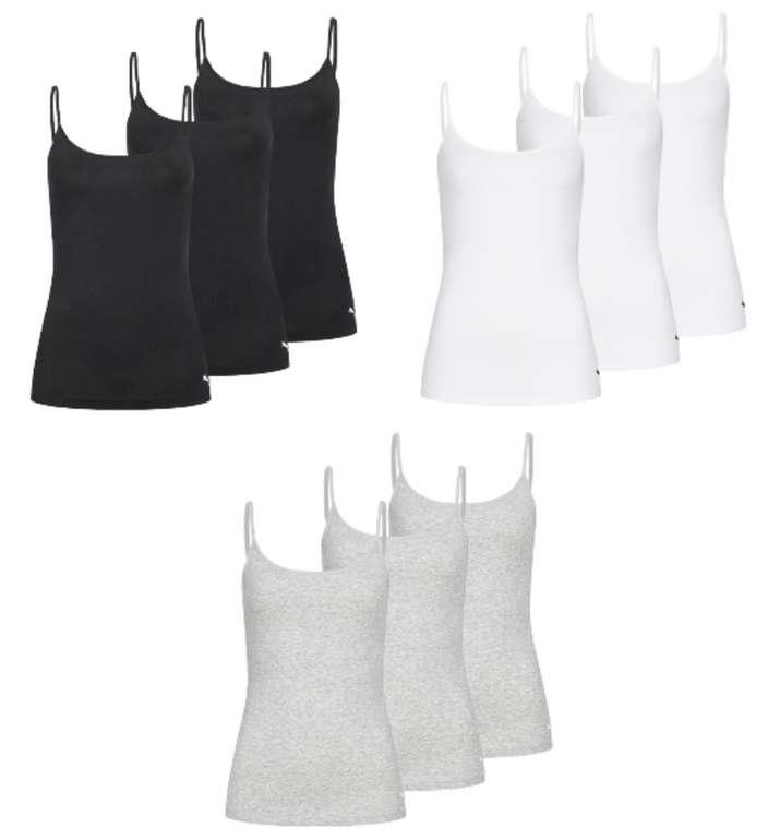 Puma Iconic Damen Tanktop Shirt im 3er Pack in vers. Farben zu je 19,99€ inkl. Versand (statt 45€)