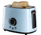 Domo DO953T Retro-Toaster in hellblau für 26€ inkl. Versand (statt 43€)