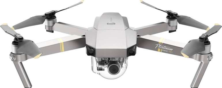 Dji Mavic Pro Platinum Drohne (4K UHD, 12 MP) für 799,99€ inkl. Versand (statt 900€)