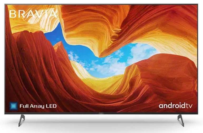 "Sony KD-75XH9005 - 75"" UHD 4K Full Array LED Smart-TV für 1.328,90€ (statt 1.499€)"