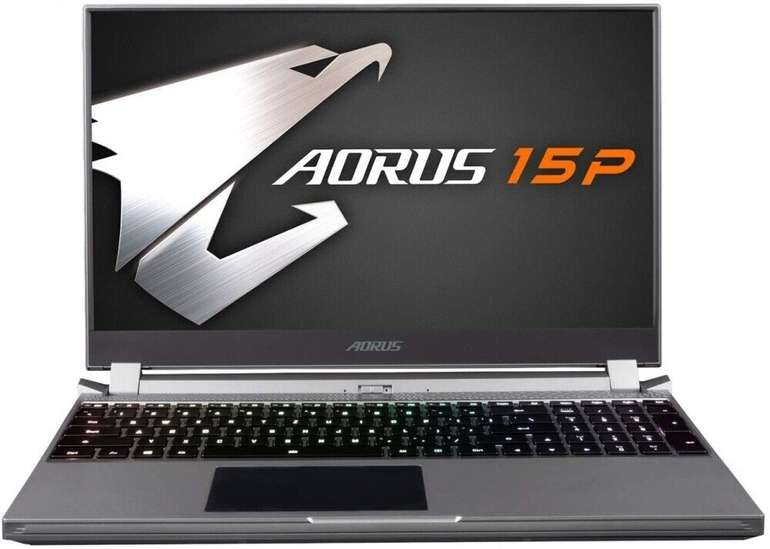 "GigaByte Aorus 15P ""WB-7DE1130SH"" - 15,6"" Notebook (i7-10750H, 16 GB, GeForce RTX 2070 Max-Q) für 1.339,90€ inkl. Versand (statt 1.653€)"
