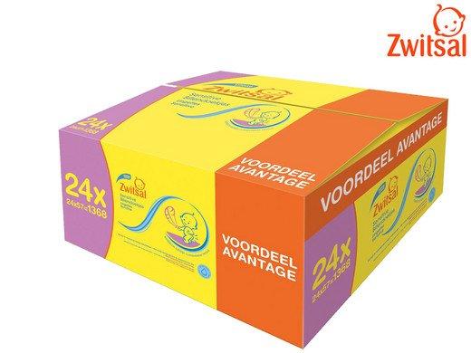 Zwitsal Baby Sensitive Feuchttücher 24 x 57 Stück (1.368 Stück) für 35,90€ inkl. VSK