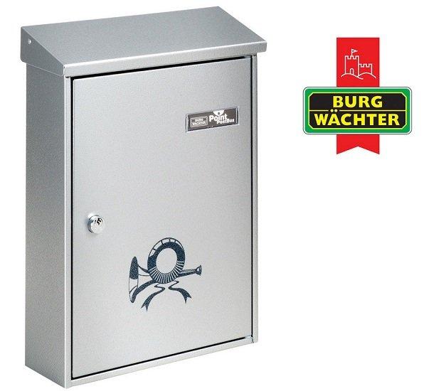 Burg Wächter Letter 5832 Si Briefkasten für 12,90€ inkl. Versand (statt 34€)
