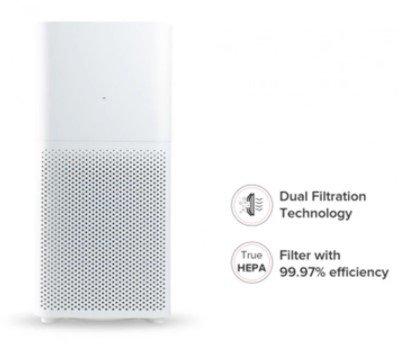 Xiaomi Mi Luftreiniger 2C (360 ° Luftzufuhr) für 66,66€ inkl. Versand (statt 106€)