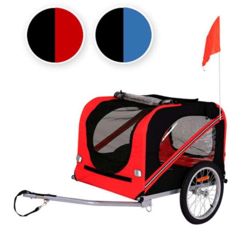 Dibea Fahrradanhänger für Hunde inkl. Anhängerkupplung und Sicherheitsgurten nur 79,95€ (statt 100€)