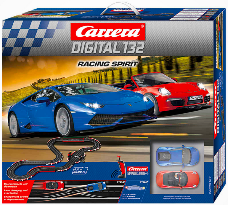 Carrera 132 Digital Set - Racing Spirit ab 212,49€ inkl. Versand (statt 319€)