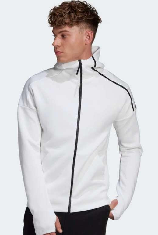 adidas Z.N.E. Herren Hoodie in Weiß für 60€ inkl. Versand (statt 100€)