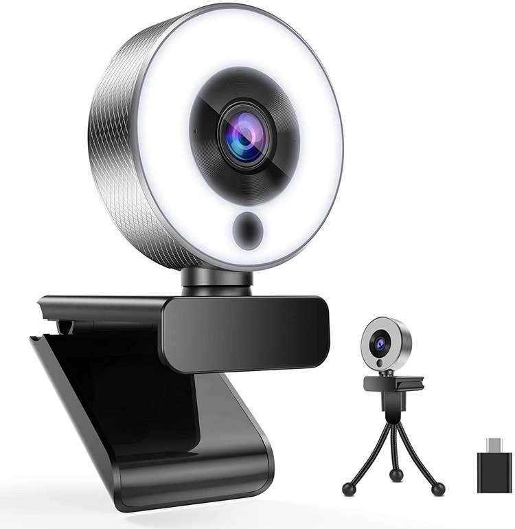 2 Belnk Webcams günstiger, z.B. A9S Webcam mit Ringlicht für 17,52€