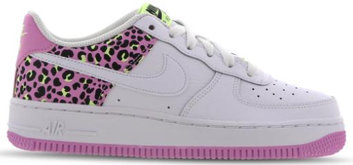 """Nike Air Force 1'07 GS """"Leo"""" Grundschule in weiß/pink für 69,99€inkl. Versand (statt 84€)"""