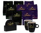 Grand Maestro Italiano Senseo Paket (288 Stück) + 2 Tassen + Untersetzer für 38€