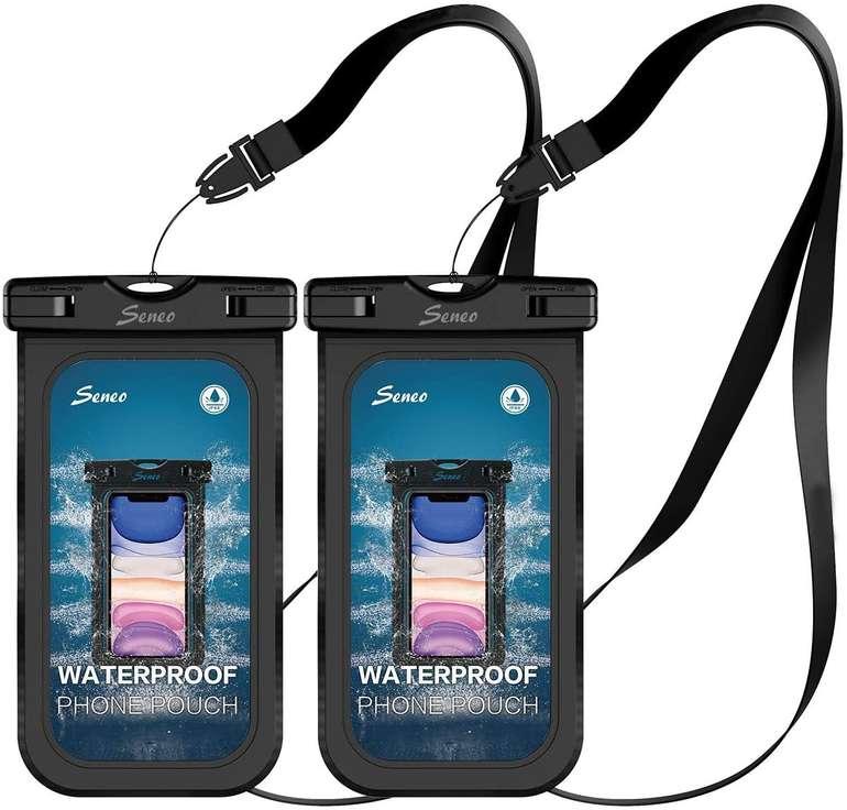 Seneo wasserdichte Handyhülle im Doppelpack (6,8 Zoll) für 6,99€ inkl. Prime Versand (statt 10€)