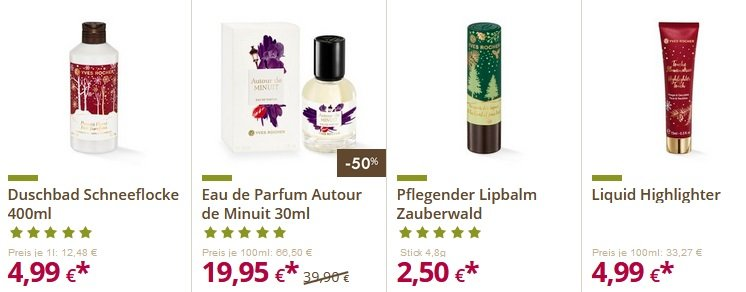 Yves Rocher Singles Day