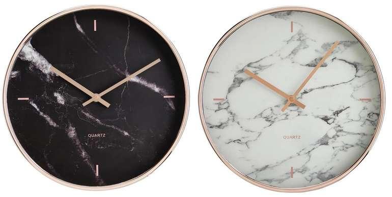 """2er Pack Mömax Uhr """"Priya"""" in Schwarz oder Weiß (Ø30,4cm) für 19,22€ inkl. Versand (statt 32€)"""