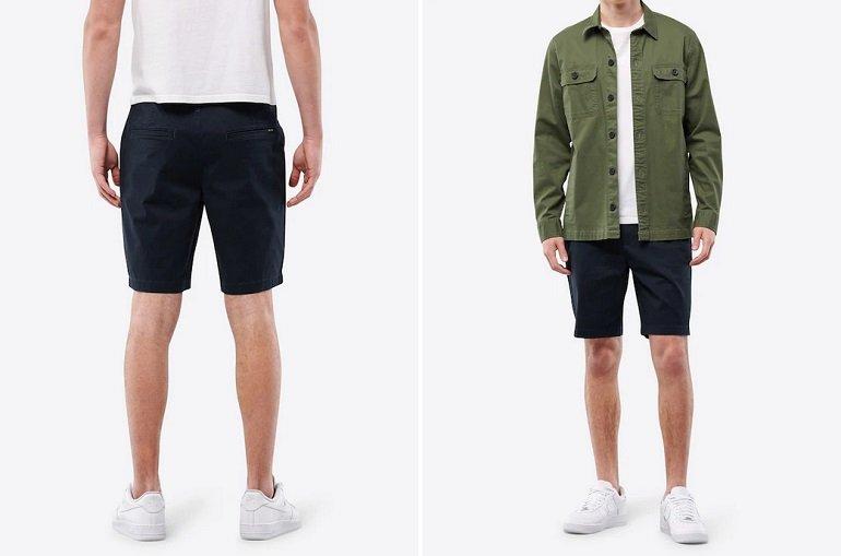 Hollister Herren Shorts in navy 2