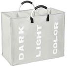 Esonmus faltbarer Wäschekorb (3 Fächer, 90L) für 11,99€ (statt 16€ - Prime)