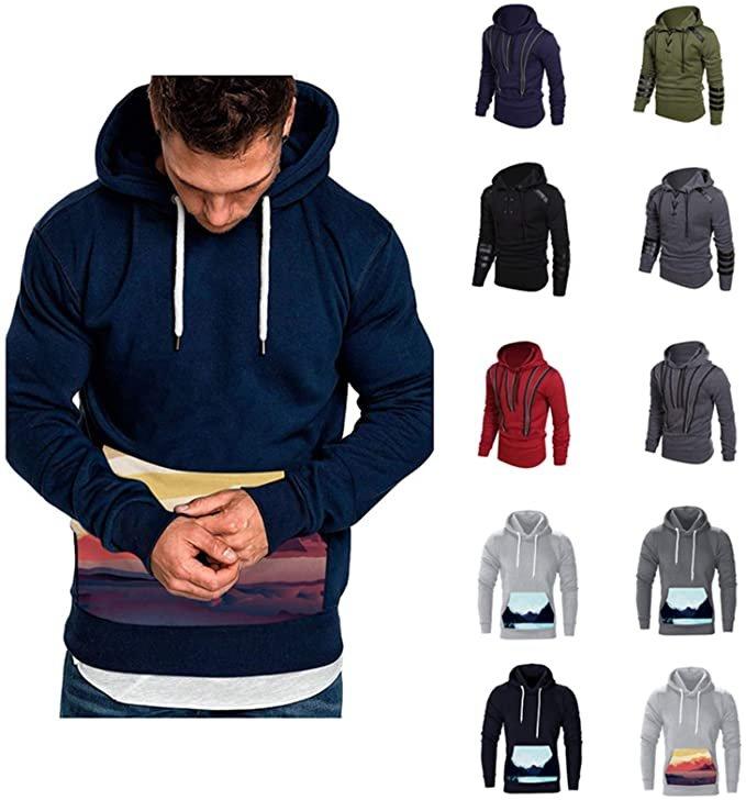 Shuanaga - verschiedene Herren Hoodies für je 15,20€ inkl. Versand (statt 38€)