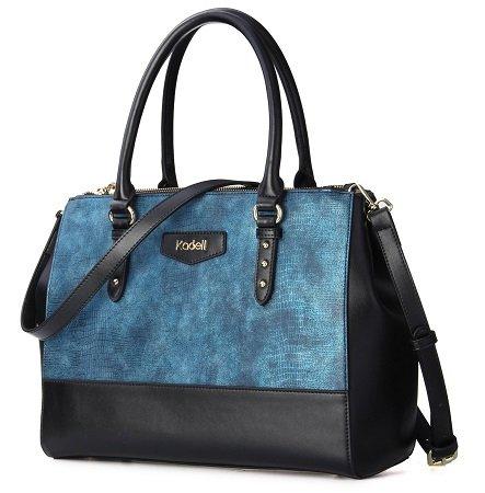 Kadell PU-Leder Handtasche mit Krokodil-Muster für 25,99€ inkl. VSK
