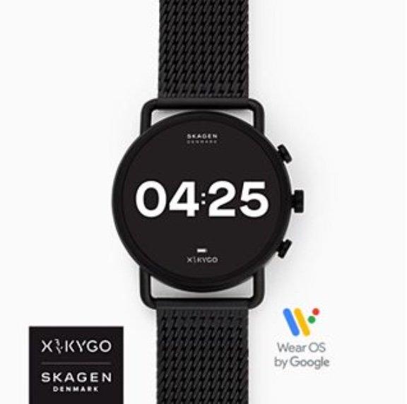 Skagen Black Friday Deals mit 40% Rabatt - z.B. Smartwatch HR Falster 3 X by KYGO für 179,40€ (statt 258€)