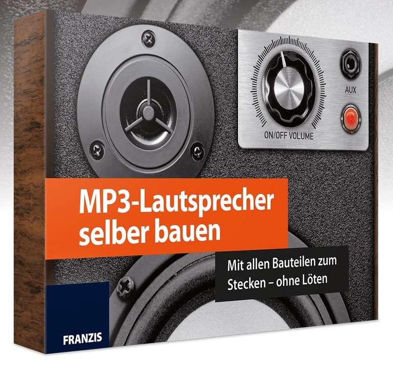 Franzis MP3-Lautsprecher selber bauen (ohne Löten) für 15€ inkl. Versand (statt 30€)