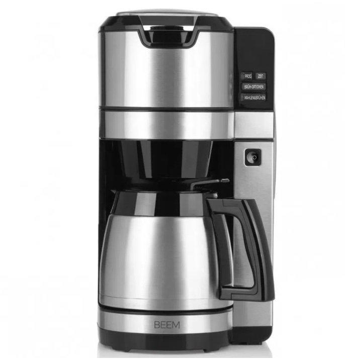 Beem Fresh-Aroma-Pure Kaffeemaschine mit Mahlwerk und Isolierkanne für 53,91€ (statt 143€) - B-Ware!