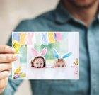 Wieder da! Postando-App: Kostenlose Osterkarte mit eigenem Foto versenden