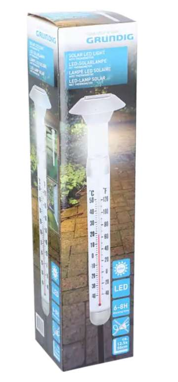 Grundig LED-Solar Lampe für 7,49€ bei Abholung (statt 15€) - 10,48€ inkl. Versand