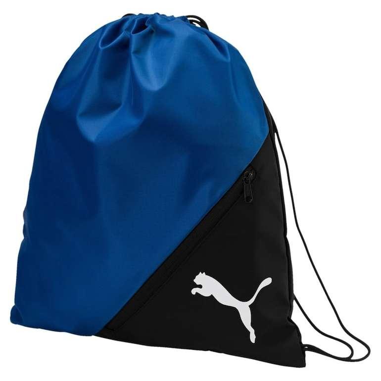 Puma Sportbeutel 'Liga' (blau/schwarz, schwarz) für 6,80€ inkl. Versand (statt 10€)
