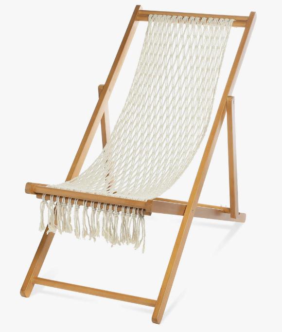 Depot: 20% Rabatt auf Outdoor - z.B Beachchair Makramee für 55,99€ (statt 70€)
