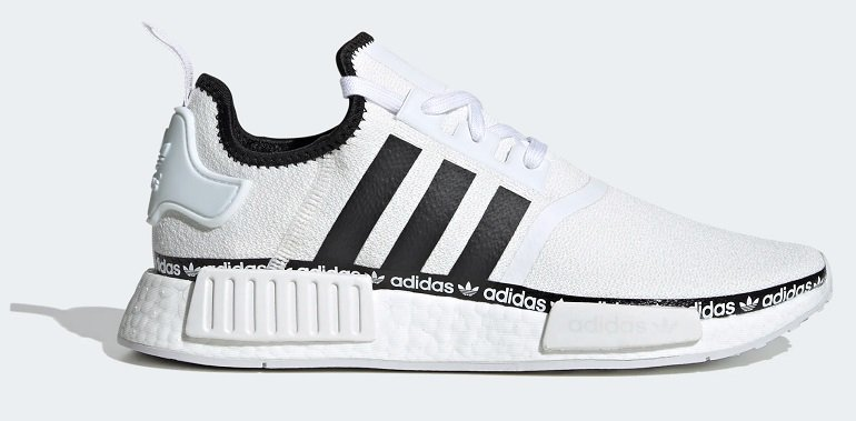 "adidas originals NMD_R1 Sneaker im ""Cloud White / Core Black / Cloud White""-Colorway für 95,49€"