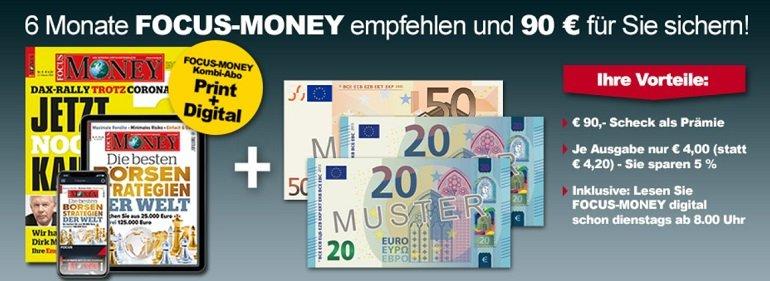 Focus Money inkl. Digital Zugang